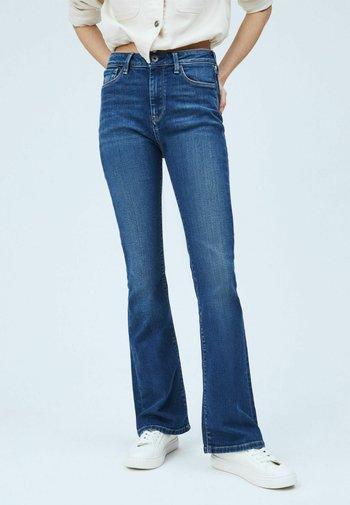 DION - Flared Jeans - denim