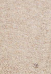 TOM TAILOR DENIM - COSY VNECK - Jersey de punto - beige melange - 2
