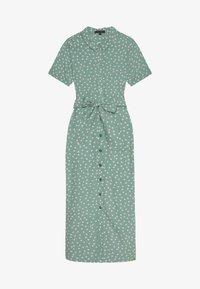 King Louie - ROSIE MIDI DRESS DOMINO DOT - Shirt dress - spar green - 2