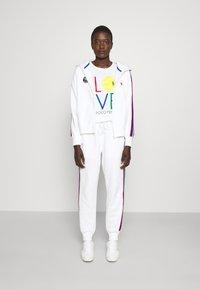 Polo Ralph Lauren - SEASONAL - Mikina na zip - classic oxford white - 1