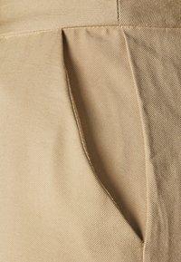 Anna Field - Wide Leg Smart Trouser - Trousers - beige - 2