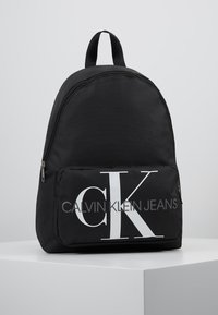 Calvin Klein Jeans - MONOGRAM CAMPUS BACKPACK  - Rugzak - black - 0