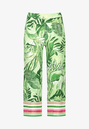 Bukser - grün druck