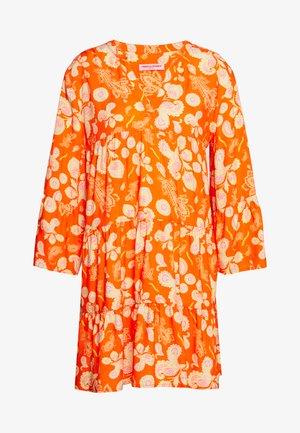 DRESS - Day dress - carrot