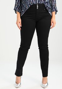 ADIA - ROME - Slim fit jeans - black - 0