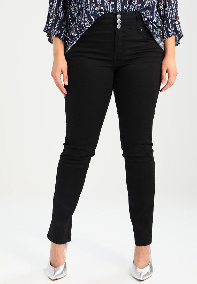ADIA - ROME - Slim fit jeans - black