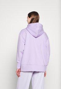 Monki - JOA HOODIE - Zip-up sweatshirt - lilac purple light - 2