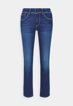 SATURN - Jean droit - blue denim