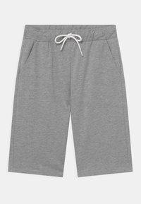 Lindex - SOLID  - Shorts - grey melange - 0