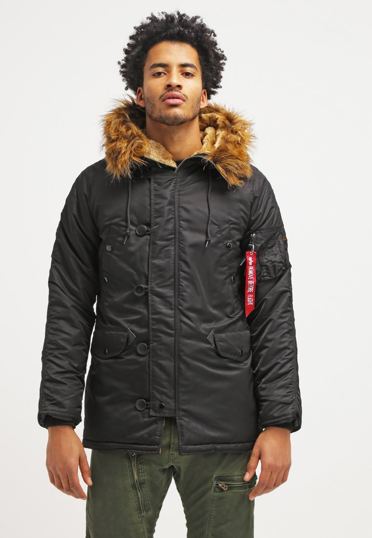 Alpha Industries - Winter coat - black