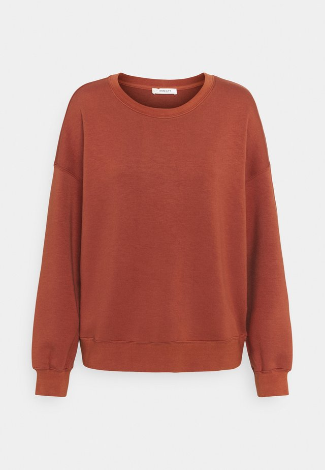 IMA - Sweatshirt - barn red