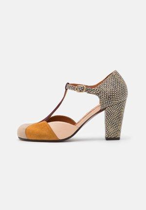 URIT - Classic heels - toast/cognac/zeus grape/freya nude/shana natur