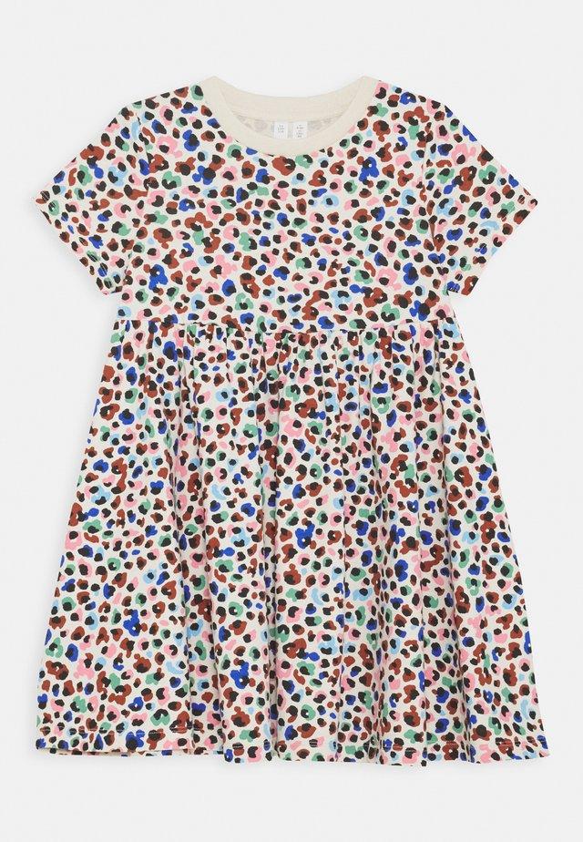 DRESS - Jersey dress - blue light