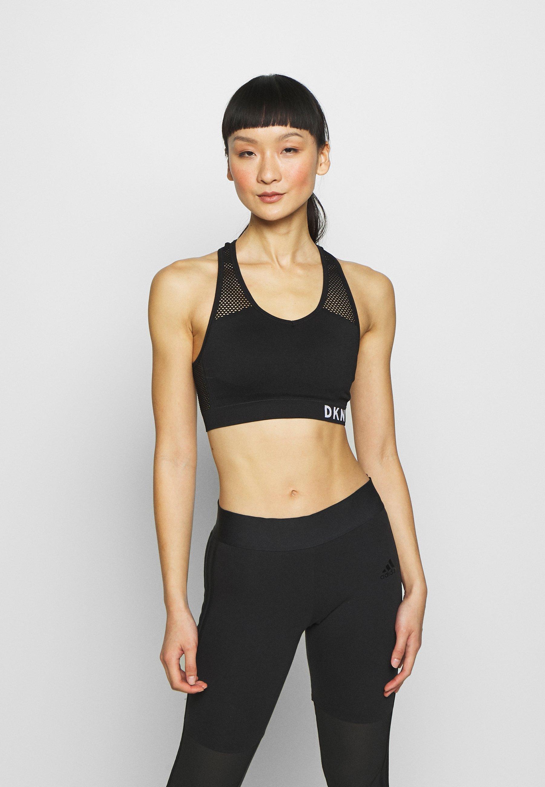 Women MEDIUM IMPACT SEAMLESS BRA REMOVABLE CUPS - Medium support sports bra