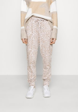 NMRAINY  - Tracksuit bottoms - bright white/praline
