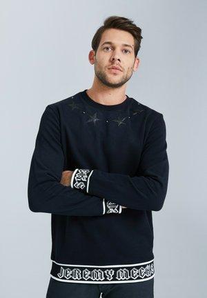 MIT PATCHES - Sweatshirt - schwarz