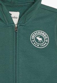 Abercrombie & Fitch - Sweatjacke - green - 3