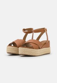 Anna Field - Korkeakorkoiset sandaalit - cognac - 2