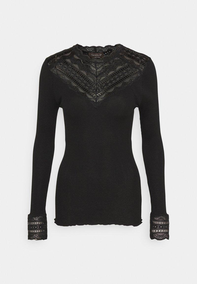 Rosemunde - Top sdlouhým rukávem - black