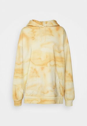 PLACEBO PRINT HOODIE - Sweatshirt - yellow mix