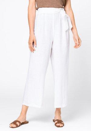 Pantalon classique - hvit