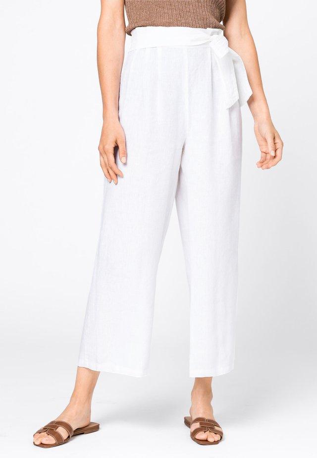 Trousers - hvit