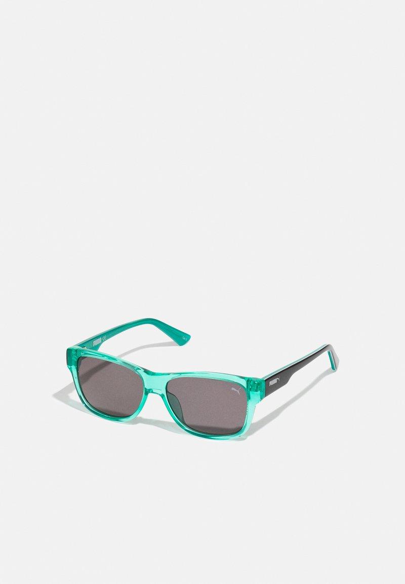 Puma - SUNGLASS KID  - Sluneční brýle - green black/smoke