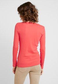 s.Oliver - LANGARM - Langærmede T-shirts - coral - 2
