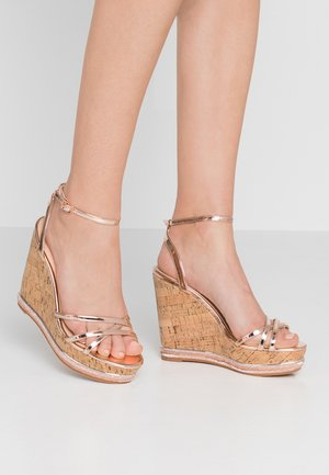 HONCHO - High heeled sandals - rose gold