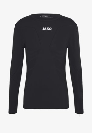LONGSLEEVE COMFORT - Long sleeved top - black
