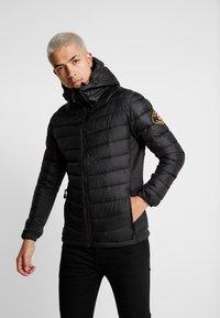 Alessandro Zavetti - AMIATA PADDED JACKET - Light jacket - black - 2