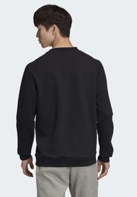 adidas Performance - MUST HAVES CREW SWEATSHIRT - Sweatshirt - black - 1