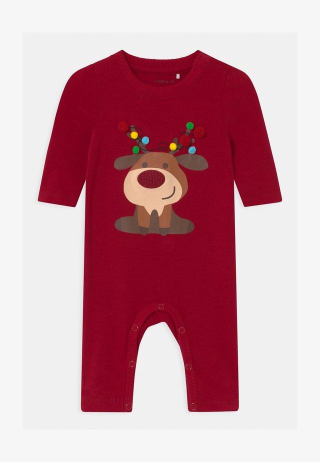 NBMRESNOWI UNISEX - Pyjama - jester red