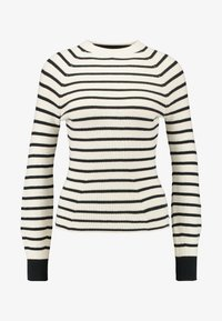 SPECIAL STRIPED WITH SHAPED SLEEVES - Jumper - combo