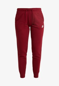 Nike Sportswear - Tracksuit bottoms - team red/white - 4