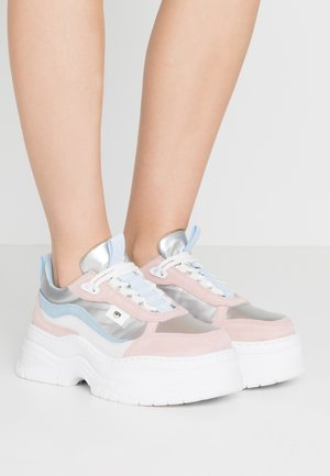 ARMY - Trainers - pastel/silver