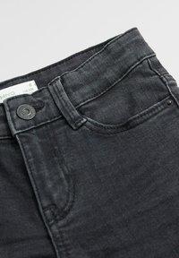 Mango - SLIM - Slim fit jeans - black denim - 2