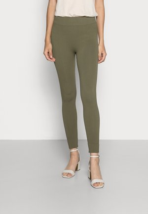 KJERSTI PANTS - Leggings - Trousers - ivy green
