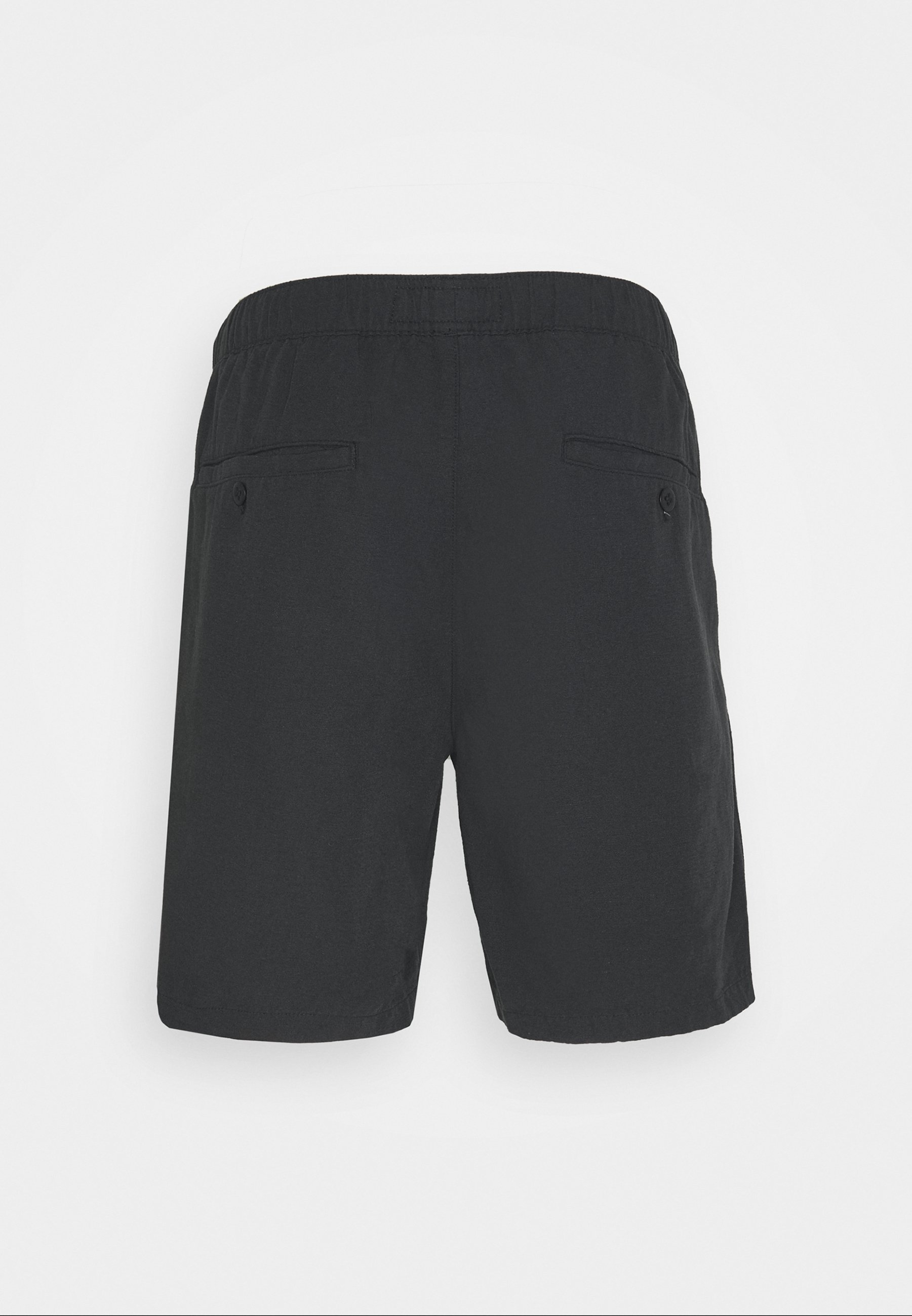 Abercrombie & Fitch DRAPEY PULL ON - Shorts - casual black