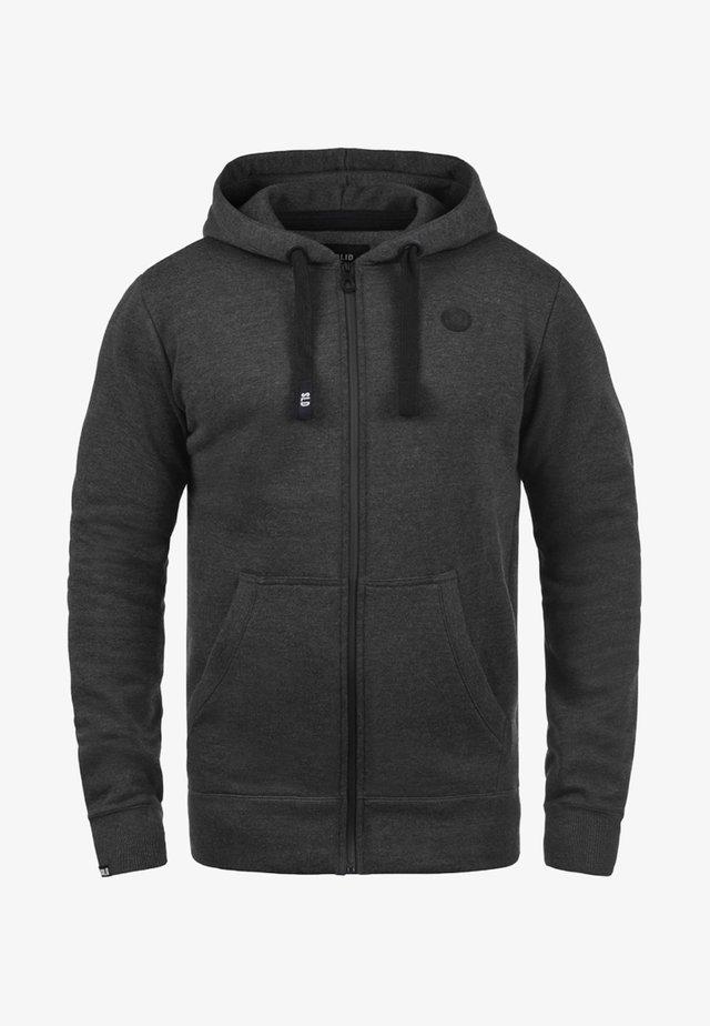 BENE - Zip-up hoodie - dark grey