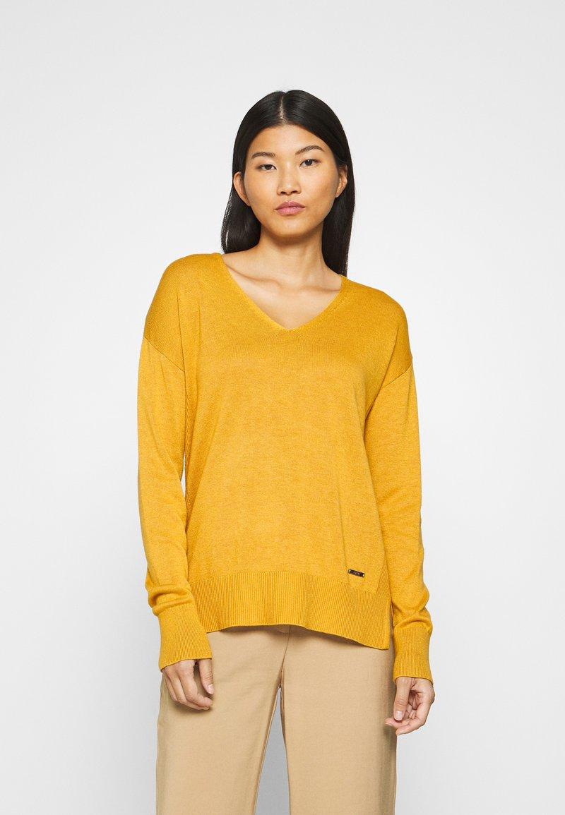 Esprit - Jumper - brass yellow