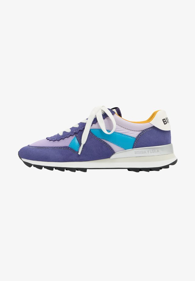 Sneakers laag - purple