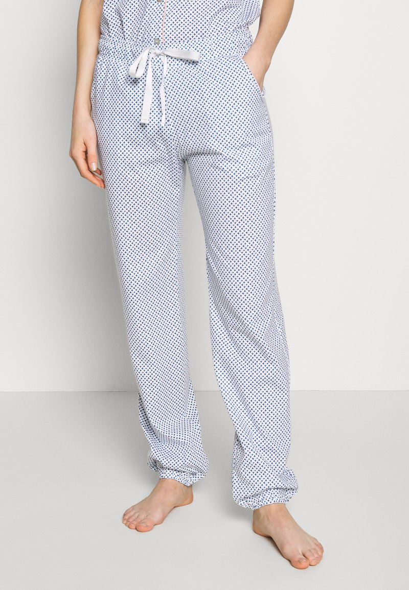 Triumph - MIX & MATCH TROUSERS - Pyjamasbukse - blue light combination