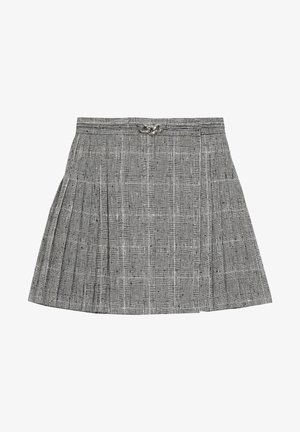 A-line skirt - black white