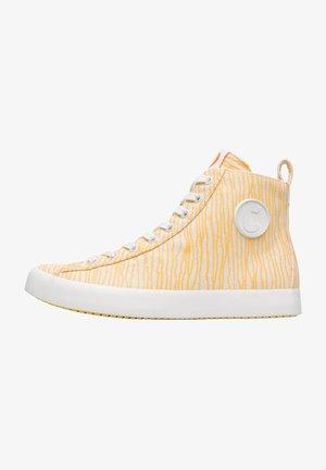 Sneakers hoog - gelb
