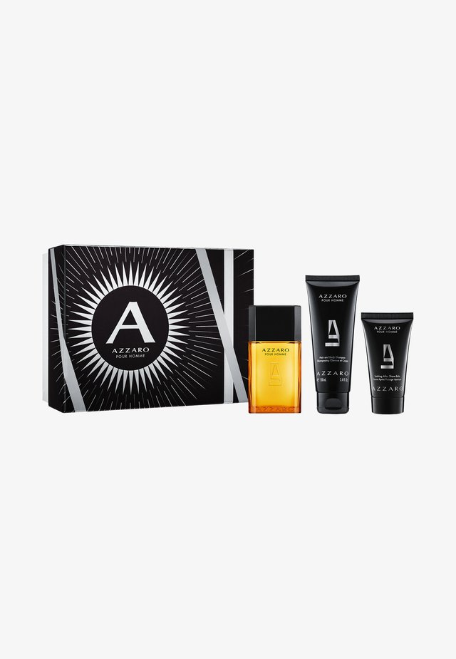 POUR HOMME X-MAS SET EDT + HAIR & BODY + AFTER SHAVE  - Fragrance set - -