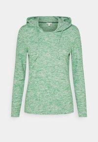 edc by Esprit - BRUSHED - Felpa con cappuccio - dusty green - 0