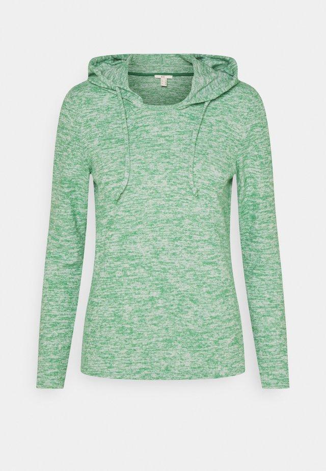 BRUSHED - Bluza z kapturem - dusty green