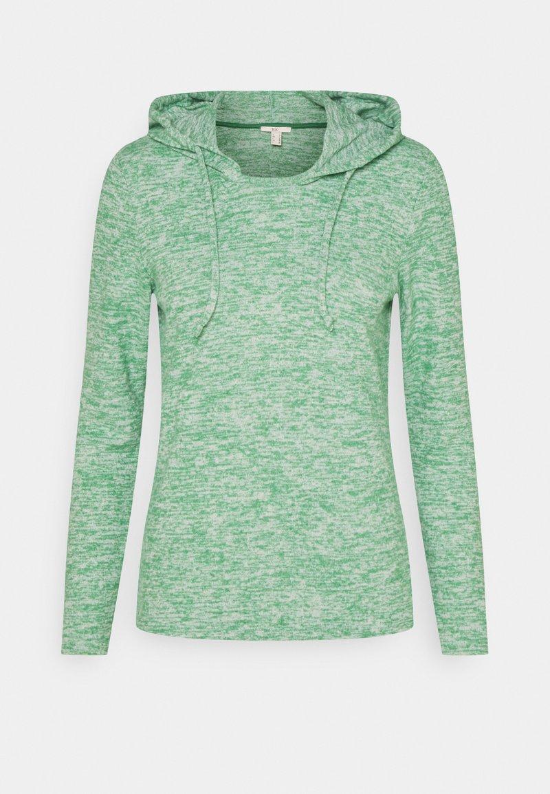 edc by Esprit - BRUSHED - Felpa con cappuccio - dusty green