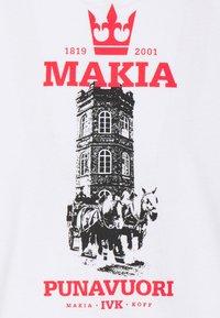 Makia - HERITAGE - Camiseta estampada - white - 2